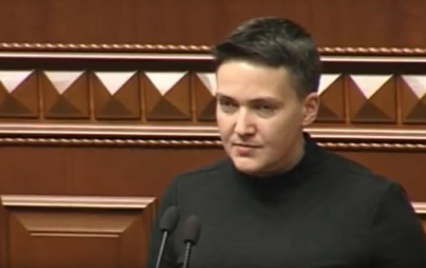 Надежда Савченко (Надія Савченко). Фото Скриншот Youtube