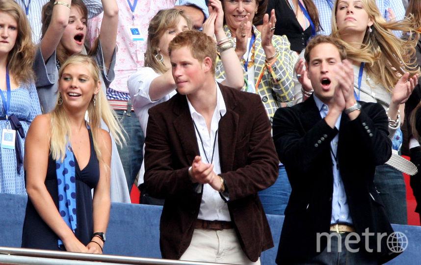Принц Гарри и Челси Дэви. Фото Getty