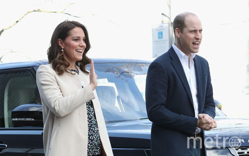 Беременная Кейт Миддлтон и принц Уильям. Фото Getty