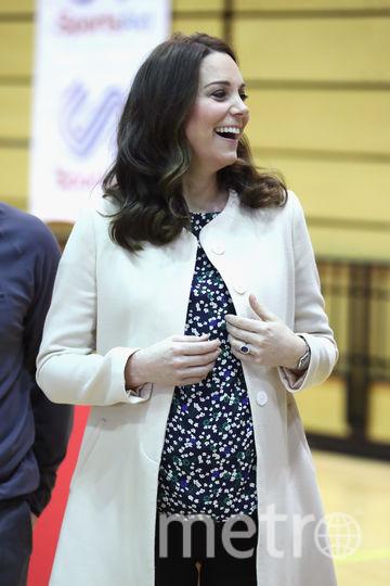 Беременная Кейт Миддлтон. Фото Getty
