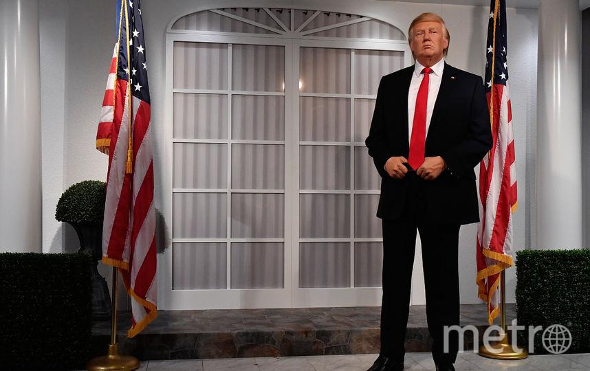 Скульптура Дональда Трампа. Фото Getty