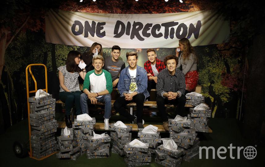 Скульптуры членов поп-группы One Direction. Фото Getty
