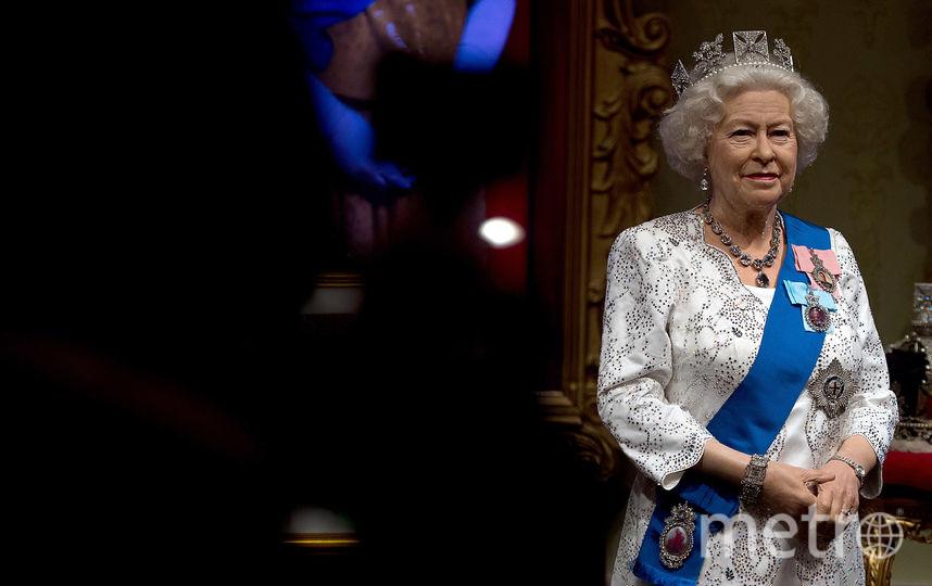Скульптура королевы Елизаветы II. Фото Getty