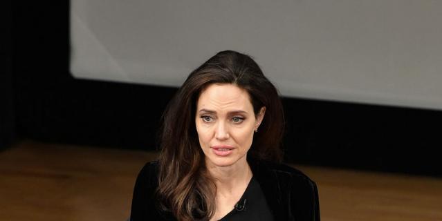 Анджелина Джоли опять начала терять вес. Фото