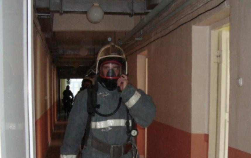В Гатчине эвакуировали пациентов психоневрологического интерната. Фото 47.mchs.gov.ru