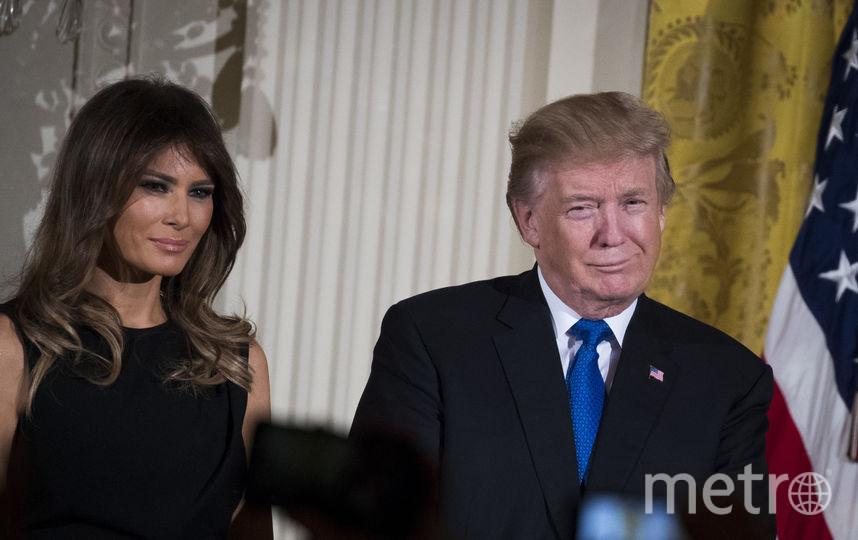 Дональд Трамп с женой Меланией. Фото Getty
