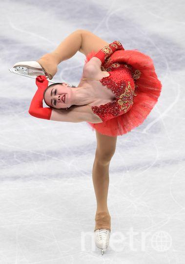 Алина Загитова на чемпионате мира по фигурному катанию в Милане. Фото AFP