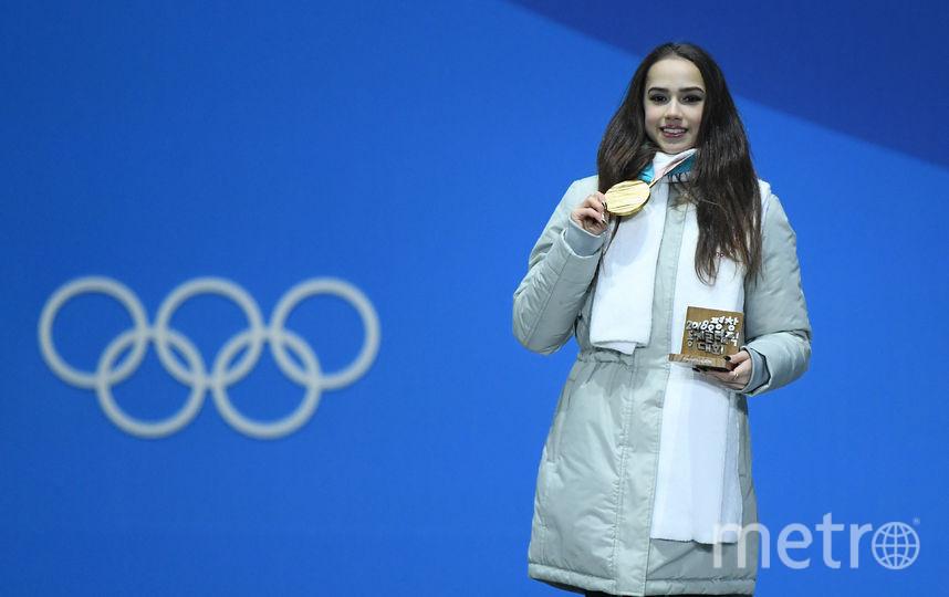 Алина Загитова на Олимпиаде в Пхенчхане. Фото Getty