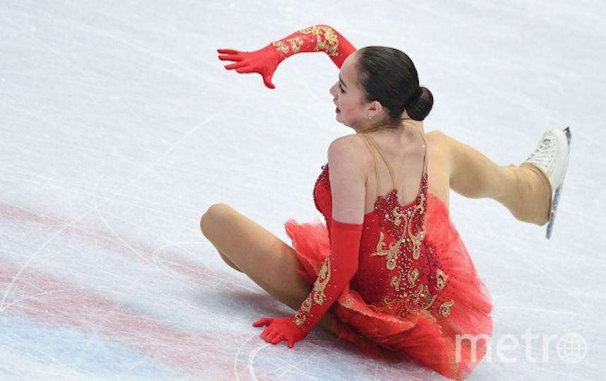 Алина Загитова на чемпионате мира по фигурному катанию в Милане. Фото РИА Новости