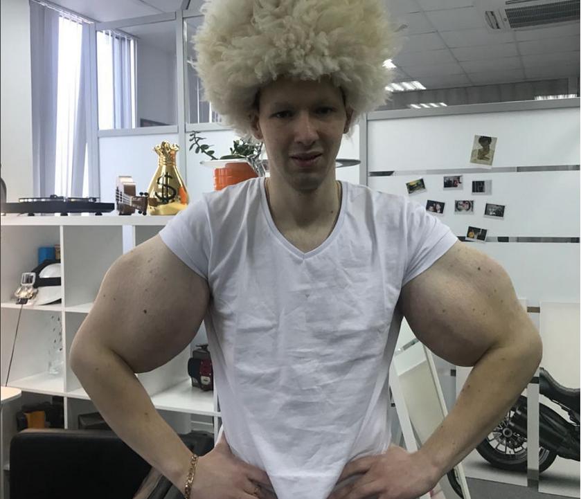 """Кирилл Терешин, """"Мистер Синтол"""", фотоархив."""