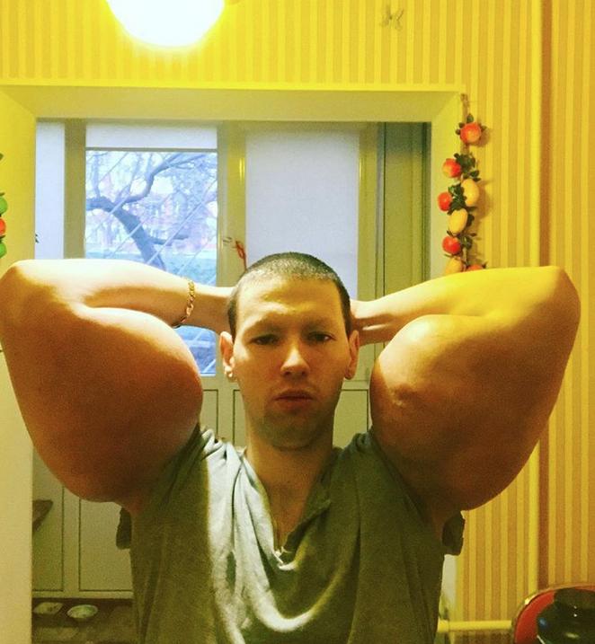 "Кирилл Терешин, ""Мистер Синтол"", фотоархив. Фото все - скриншот instagram.com/freak_slacker_official/"