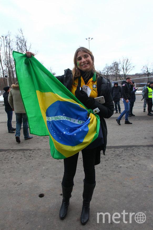 Рената будет болеть на чемпионате мира за Бразилию и Россию. Фото Василий Кузьмичёнок