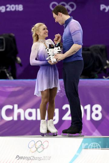Алёна Савченко и Брюно Массо. Фото Getty