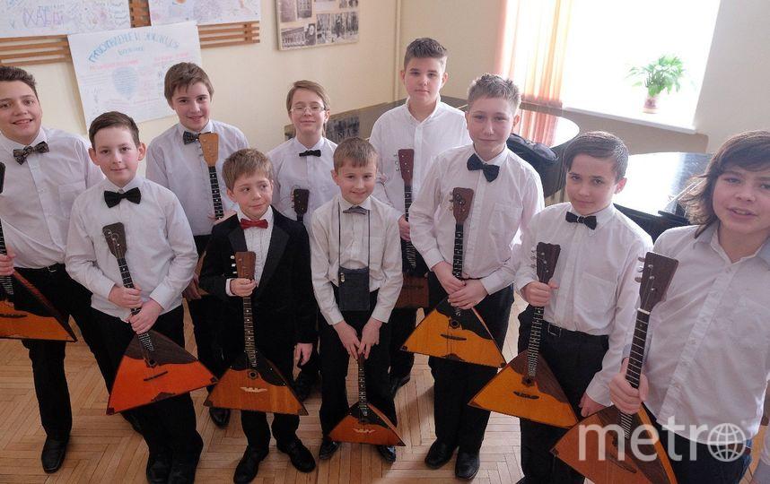 """Многие преподаватели считают, что балалайка – инструмент для мальчиков. Фото Алена Бобрович, """"Metro"""""""