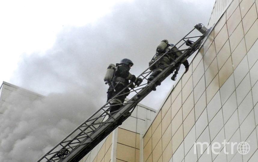 Количество погибших при пожаре в торгово-развлекательном центре «Зимняя вишня» в Кемерово достигло 64 человек. Об этом заявил глава МЧС Владимир Пучков. Фото AFP