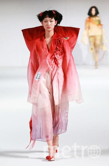 Показ Hempel Award на Неделе моды в Пекине. Фото AFP