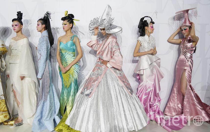 Показ MAOGEPING на Неделе моды в Пекине. Фото Getty