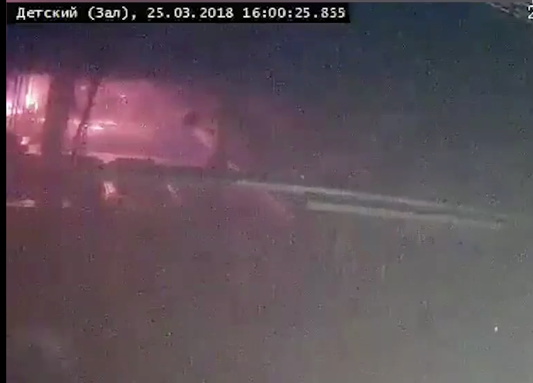 Скриншот видео. Фото vk.com/incident_42, vk.com