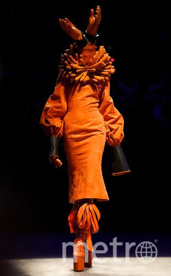 Показ Hu Sheguang на Неделе моды в Пекине. Фото Getty
