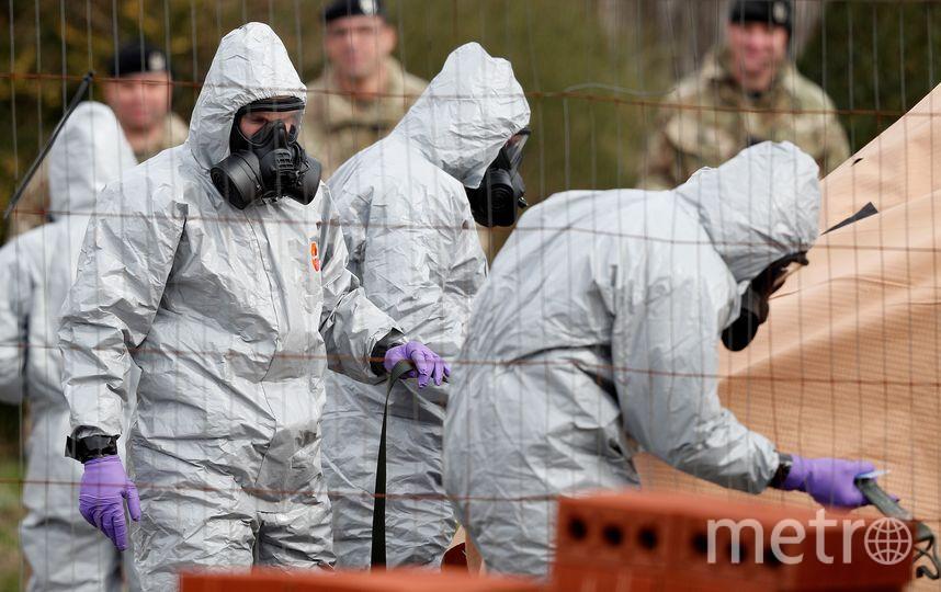 Солсбери после отравления Сергея и Юлии Скрипалей. Фото AFP