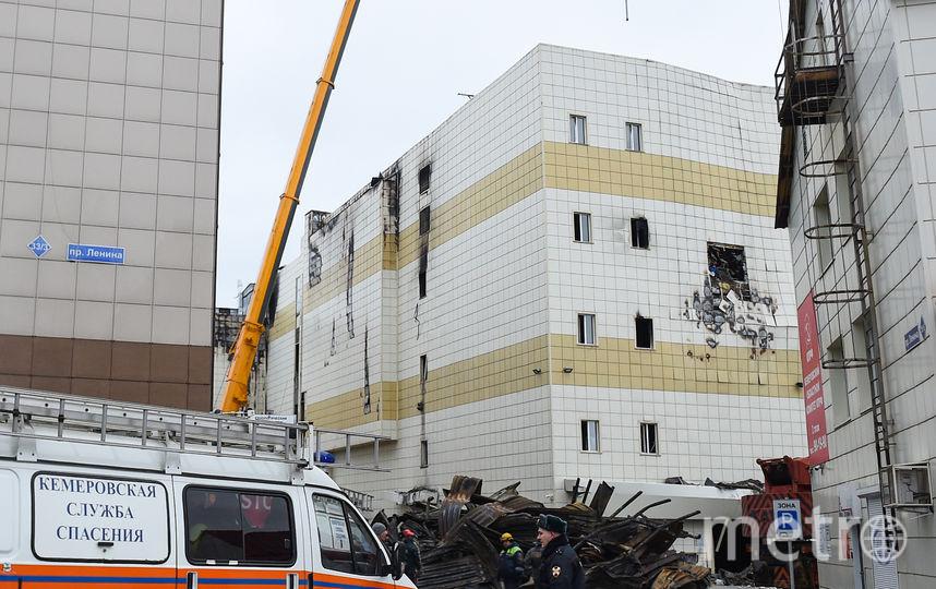 "При пожаре в ТЦ ""Зимняя вишня"" в Кемерово погиб 41 ребёнок. Фото AFP"