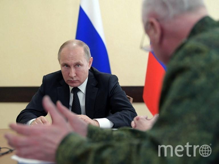 Совещание с президентом РФ в Кемерово. Фото AFP