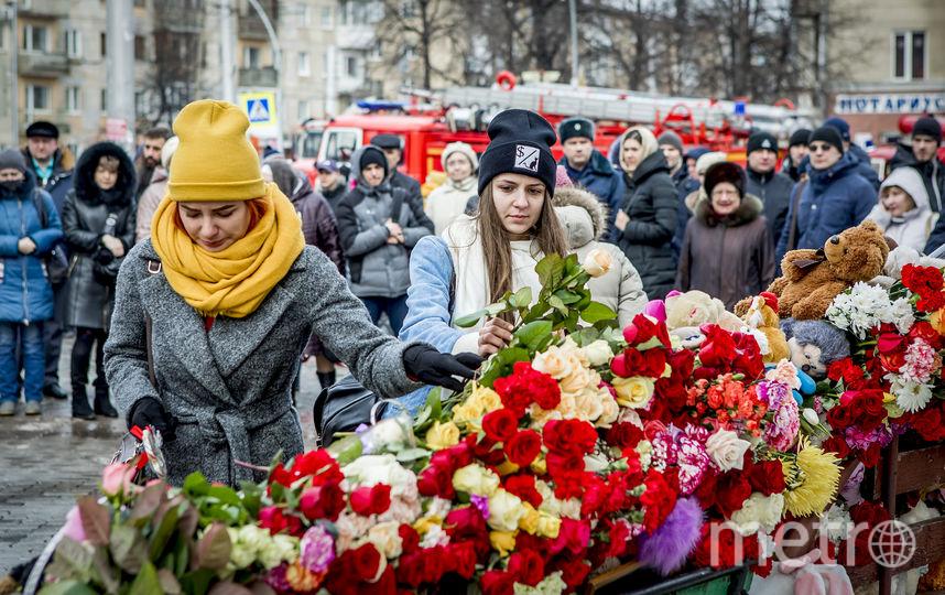 На площади Советов до сих пор остаются несколько сотен человек. Фото AFP