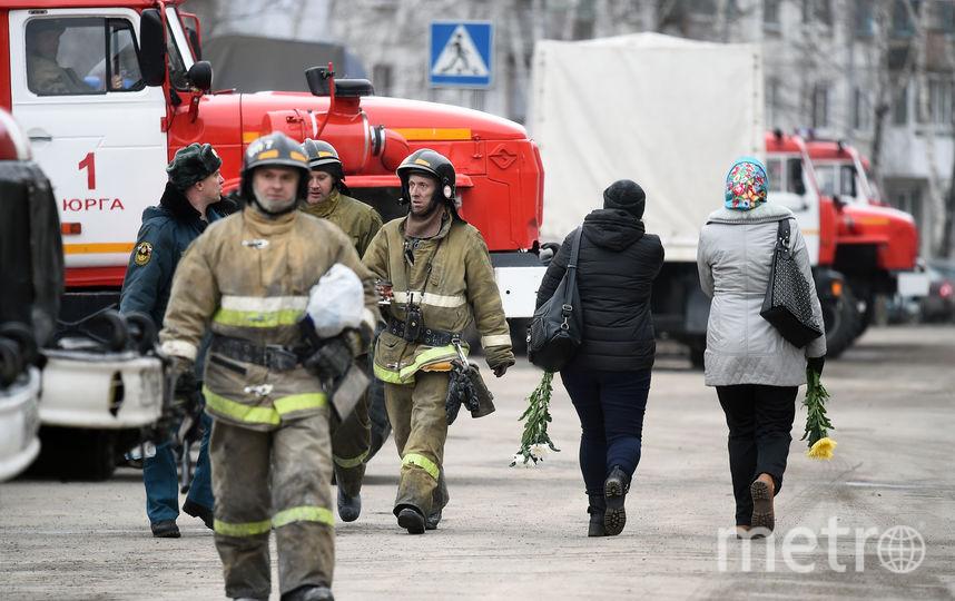 "В Кемерово 25 марта произошёл пожар в ТЦ ""Зимняя вишня"". Фото AFP"