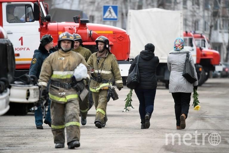 "Пожар в ТЦ ""Зимняя вишня"" в Кемерово. Фото AFP"