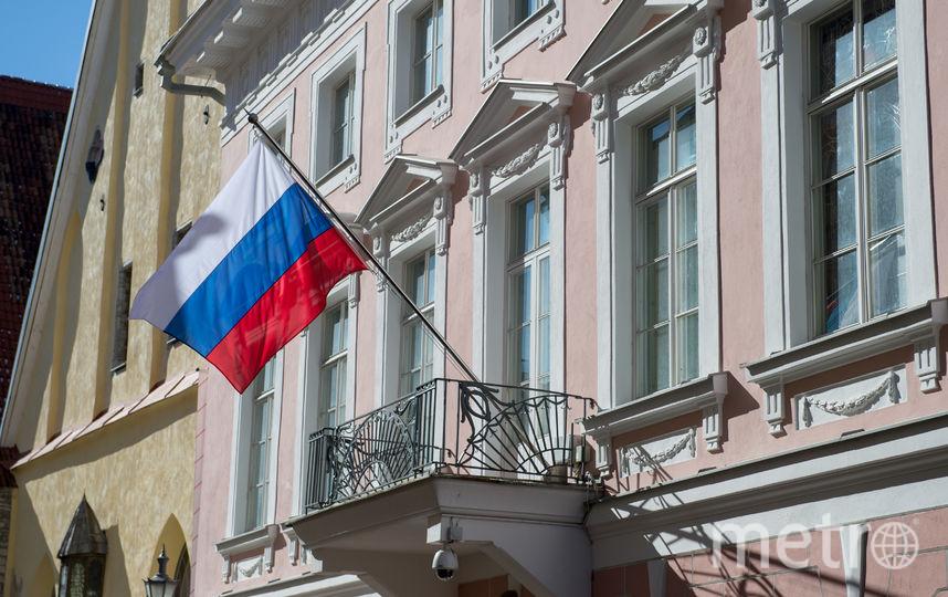 Посольство Российской Федерации В Эстонской Республике. Фото AFP