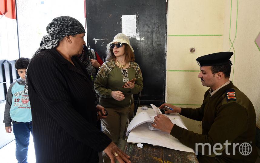 Президентские выборы в Египте проходят с 26 по 28 марта 2018 года. Фото AFP
