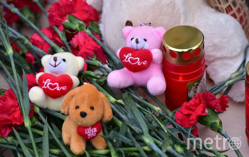 В Москве приносят соболезнования жертвам трагедии в Кемерово. Фото Василий Кузьмичёнок