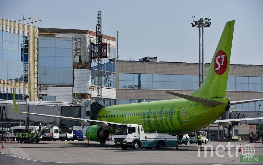 В аэропорту Домодедово самолёт прервал вылет из-за задымления на борту. Фото Василий Кузьмичёнок