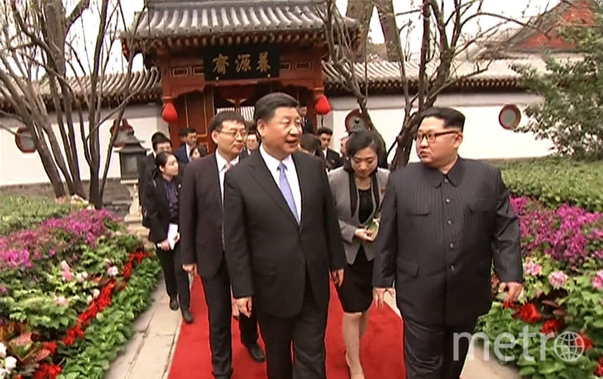 Визит Ким Чен Ына в Китай. Фото AFP