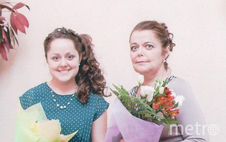 Мама Наталия Севостьянова и дочка Виктория Перлова. Фото Виктория Перлова