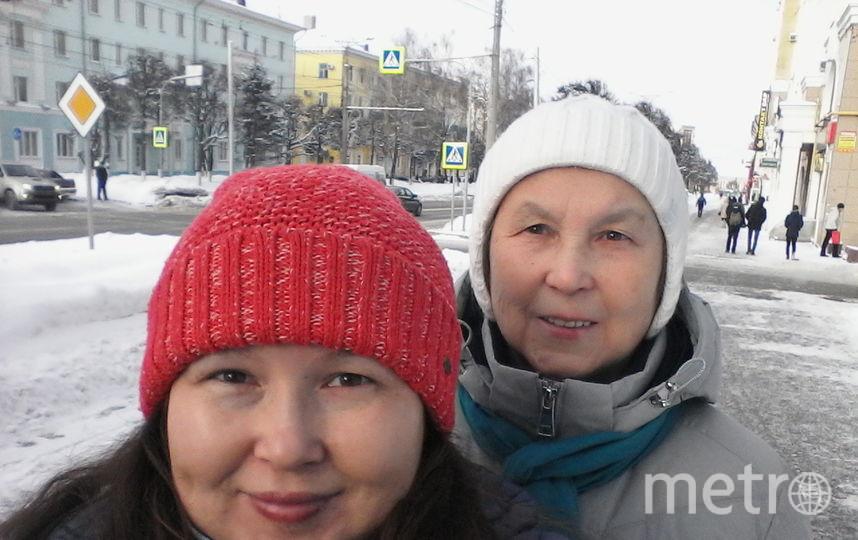 Я и моя мамочка. Оксана и Эльвира Петровна Николаевы. Фото Оксана