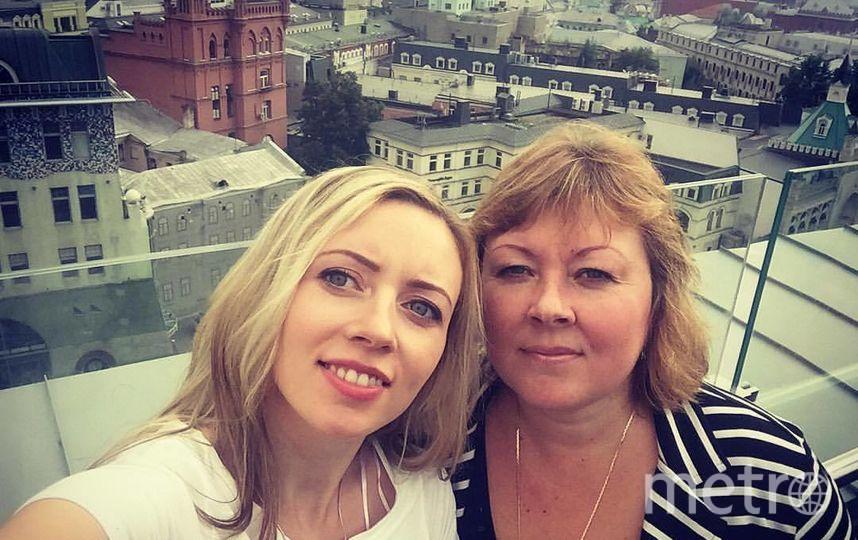 Моя любимая мамочка, моя подружка! Дочь Варвара Цымбалюк, мама Ольга Чистякова. Фото Варвара