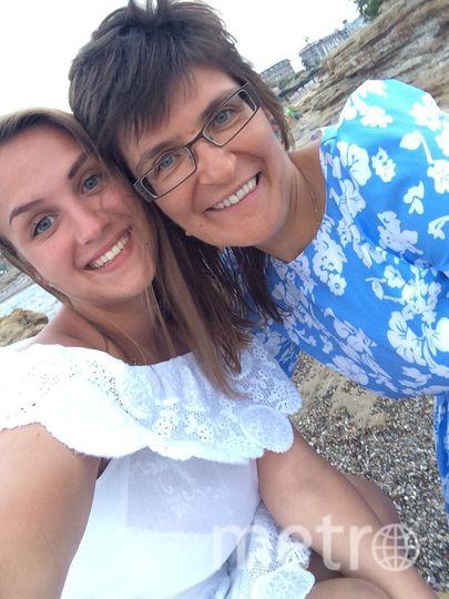 На фото мама Лена и дочка Оля. Фото Лена