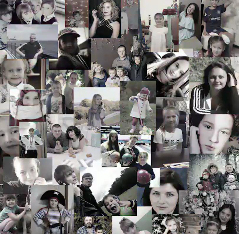В память о Кемерово: в Сети набирает популярность мультфильм о детских душах. Фото все - скриншот instagram.com/marina_phedunkiv/