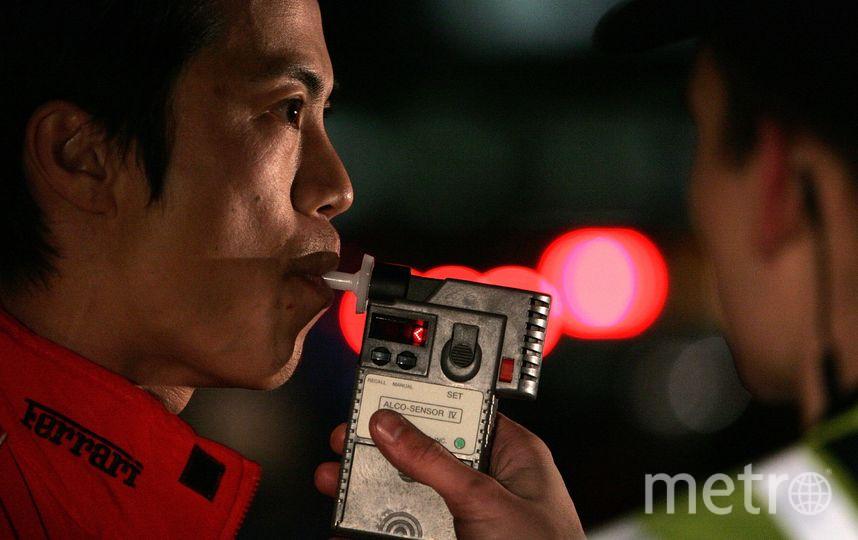 Ранее водителя можно было признать пьяным только по результатам дыхательного теста. Фото Getty