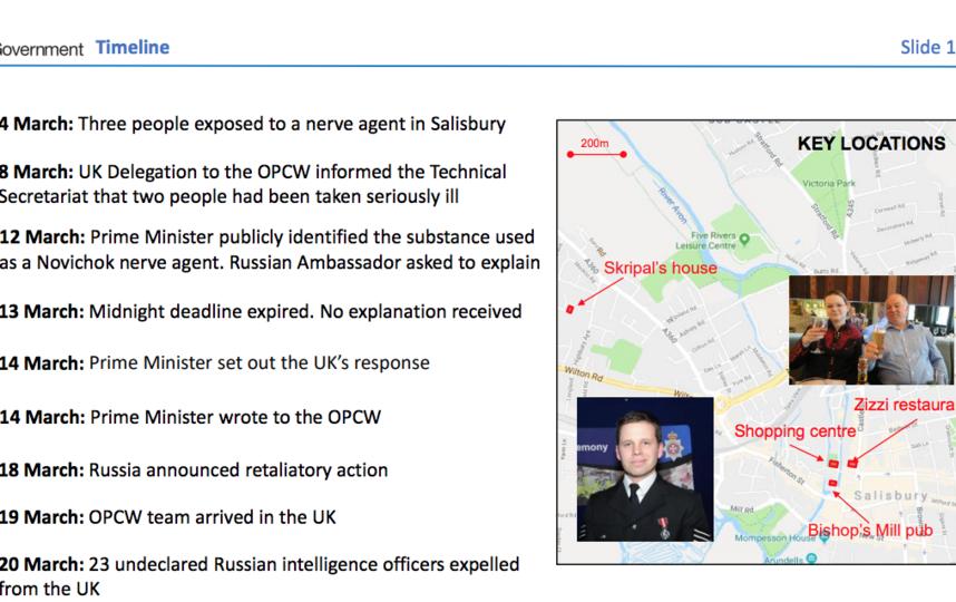 Скриншот презентации.