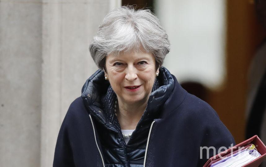 Премьер-министр Великобритании Тереза Мэй. Фото AFP