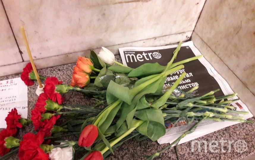 """В Петербурге увековечат память жертв теракта в метро 3 апреля. Фото Святослав Акимов, """"Metro"""""""