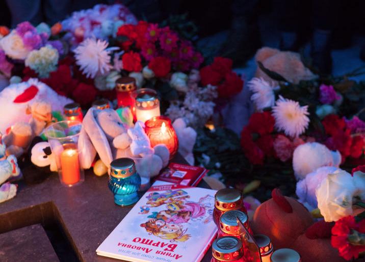 """В России после трагедии в Кемерово прошли митинги памяти. Фото Святослав Акимов., """"Metro"""""""