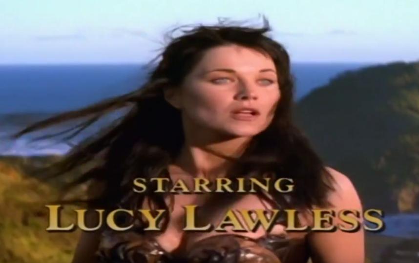 """Люси Лоулесс в """"Зене - королеве воинов"""". Фото Скриншот Youtube"""
