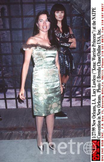 Люси Лоулесс в молодости. Фото Getty