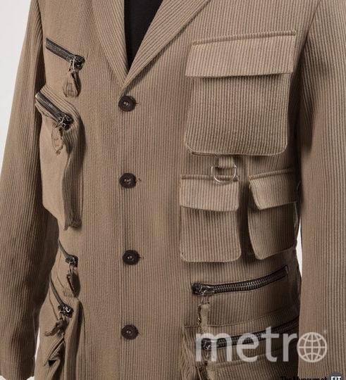 Jean Paul Gaultier Homme, мужской жакет, шерсть, весна 1990-го, Франция, Музей Технологического института моды, подарок Ричарда Мартина. Фото INSTAGRAM Музея Технологического института моды