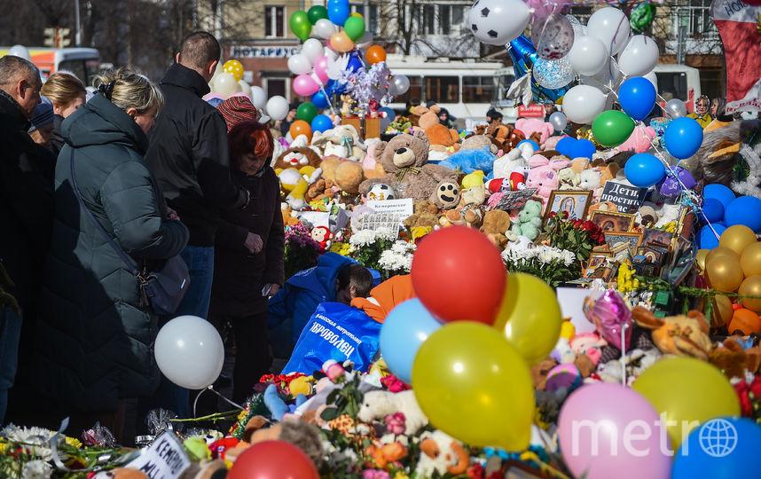 В разных городах России почтили память погибших в Кемерово. Фото AFP