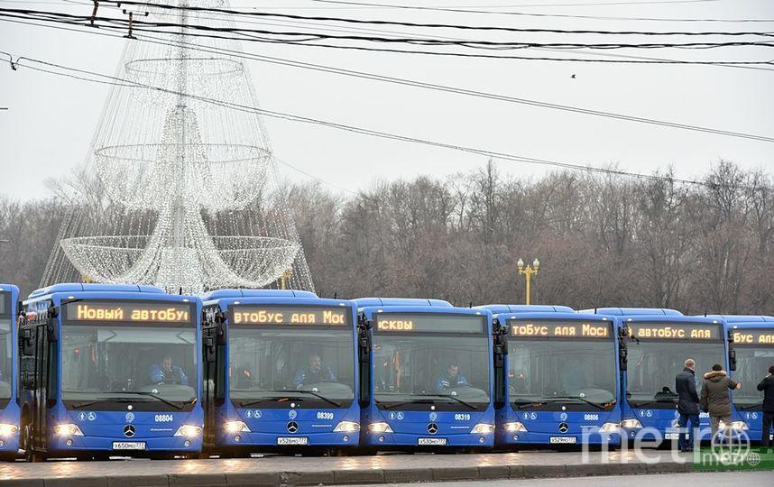 Бесплатные автобусы запустят в Москве в пасхальные праздники. Фото Василий Кузьмичёнок