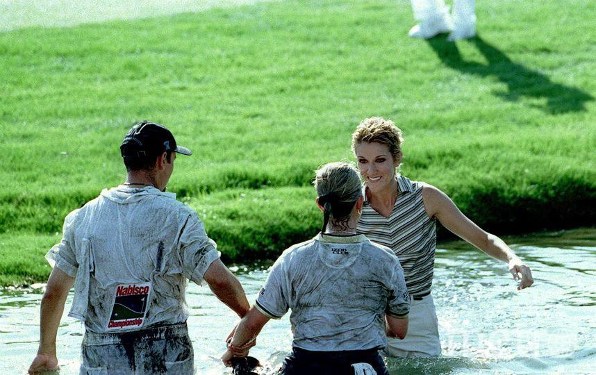 Селин Дион в молодости. Фото Getty